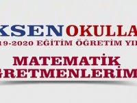 Eksen Okulları Matematik kadrosunu açıkladı