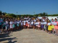 Gülbeyaz Olimpik Yüzme Havuzunda sertifika töreni
