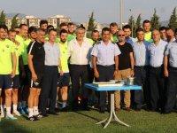 Akhisar Garnizon Komutanlığından Akhisarspor'a ziyaret