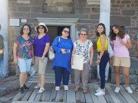 Aybek turizm bu haftasonu VİP grubuyla Bozcaada-Assos Behramkale turundaydı