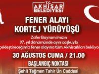 Akhisar Belediyesi'nden Fener Alayı'na çağrı