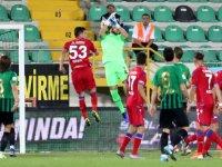 Akhisarspor, Altınordu maçında gol sesi çıkmadı