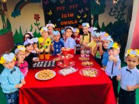 Özel Pinokyo Kreşinde okula hoş geldin partisi