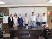 Yüksekokul Müdürlerinden ATSO başkanı Dr. Ulusoy'a ziyaret