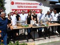 Bal-Göç'ten geleneksel aşure hayrı