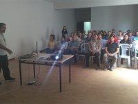 Akhisar OSB'de küresel salgın hastalıkları hakkında bilgilendirme yapıldı