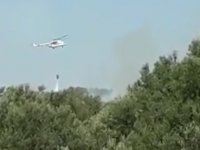 Akhisar'da orman yangını!