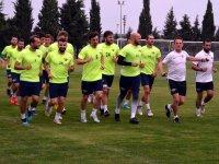 Akhisarspor'da Bayburt Özel İdarespor hazırlıkları
