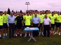 Müftü Mahmut Sami Türkmenoğlu, Akhisarspor'u ziyaret etti
