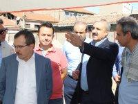 Milletvekili Aydemir, ATSO Merkez Çarşıyı Canlandırma Projesini yerinde inceledi
