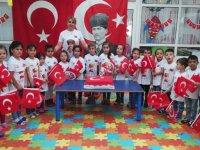 Şehit Yüzbaşı Necdi Şentürk Anaokulu 29 Ekim Cumhuriyet bayramı coşkusu