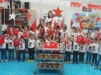 Zehra Muhittin Kavaklı  Anaokulunda 29 Ekim Cumhuriyet Bayram coşkusu