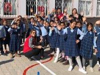 Mehmet Akif Ersoy İlkokulu artık rengarenk