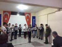 Deniz Kişisel Gelişim Kursunda 10 Kasım Atatürk'ü anma töreni