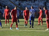 Akhisarspor, Erzurum deplasmanından 1 puanla dönüyor