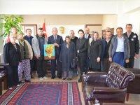 ATSO Toplum Ruh Sağlığı Merkezi Danışanlarının Kaymakamlık Ziyareti