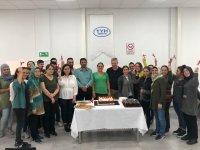 TYH Tekstil Gıdacılar Şubesi İŞKUR 17. grup mezunlarını verdi