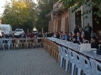 Marangozlar Odası, esnaf üyeleri için pilav hayrı yaptı