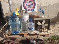 Akhisar'da Kaçak İçki Operasyonu