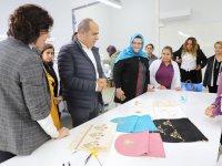 TYH Tekstil'den Zeynep Gülin Öngör MTAL'e ziyaret