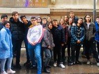 Merkez Koleji'nin sanatsever öğrencilerinden LÖSEV'e anlamlı ziyaret