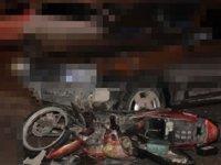Trafik kazasında şarjlı sürücüsü yaralandı