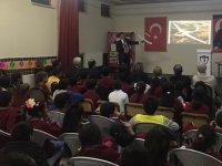 Atatürk İlkokulu'nda bilim söyleşileri