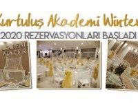 Kurtuluş Akademi Winter 2020 yılı Rezervasyonlara başladı