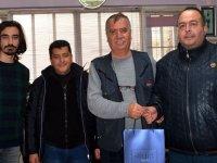 Pazarcılar Odası, gazeteciler gününü kutladı