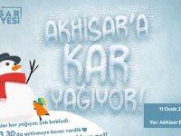 Akhisar'a kar yağacak