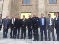Ziraat Odasından Ankara ziyaretleri
