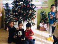 Özel Pinokyo Kreşinde yarıyıl karne sevinci yaşandı