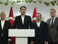 Çevre ve Şehircilik Bakanı Kurum, Akhisar ve Kırkağaç'ta incelemelerde bulundu