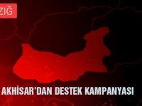 Türkiye'nin en anlamlı Elazığ deprem kampanyası Akhisar'dan