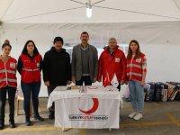 Türk Kızılay Akhisar Şubesi depremzedeler için yardım kampanyası başlattı