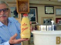 Boza, Piramit'te içilir