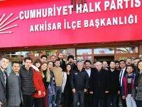 Akhisar CHP Gençlik Kolları Başkanı Akalın güven tazeledi
