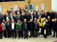 TÜRFAD'ın Organize ettiği gecede Akhisarlı efsaneler bir araya geldi
