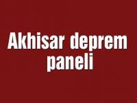 Akhisar deprem paneli