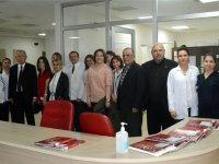 İHK, Kirazoğlu Devlet Hastanesini ziyaret etti