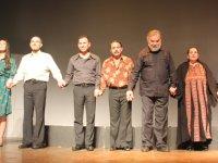 Mahzuni Şerif müzikalli oyunu Akhisar'da büyük ilgi gördü