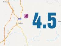 Akhisar merkezli 4.5 şiddetinde deprem meydana geldi