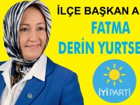 İYİ Parti ilçe başkan adayı Fatma Derin Yurtsever