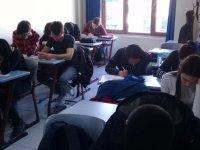Merkez kurs bursluluk sınavına büyük ilgi