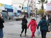 Koronavirüs salgını tedbirleri ardından Akhisar sokakları