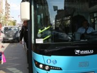 Şehir içi otobüslerinin çalışma saatleri değişti