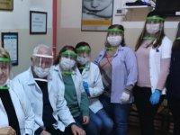 Akhisar Bilim ve Sanat Merkezinden sağlık personeline destek