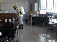 OSB, dezenfekte edilmeye devam ediyor