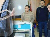 Kayhan Ergun Meslek Lisesi tıbbi maske üretiyor