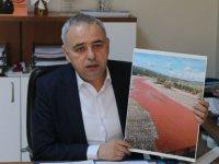 Milletvekili Bakırlıoğlu, kırmızı akan derenin ardından çevre felaketi çıktı!